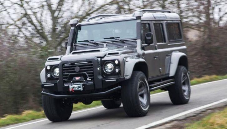 Land Rover Defender Ares, il V8 da 212.000 Euro arriva da Modena - Foto 1 di 9