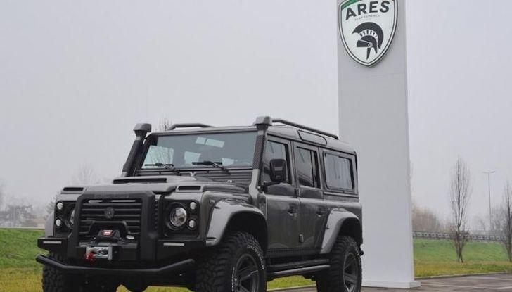 Land Rover Defender Ares, il V8 da 212.000 Euro arriva da Modena - Foto 5 di 9