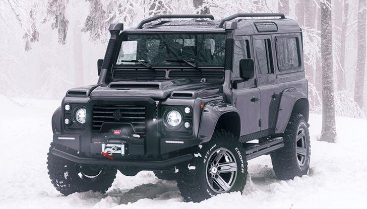 Land Rover Defender Ares, il V8 da 212.000 Euro arriva da Modena - Foto 2 di 9