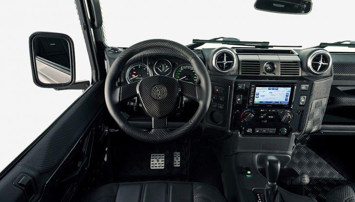 Land Rover Defender Ares, il V8 da 212.000 Euro arriva da Modena - Foto 9 di 9