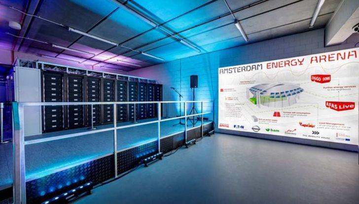 L'energia di Nissan LEAF alimenta lo stadio di Amsterdam - Foto 3 di 7