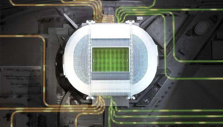 L'energia di Nissan LEAF alimenta lo stadio di Amsterdam - Foto 2 di 7