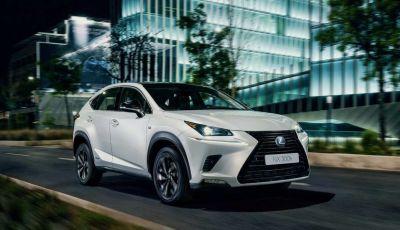 Lexus NX Sport Edition 2018: il nuovo allestimento dove domina il nero