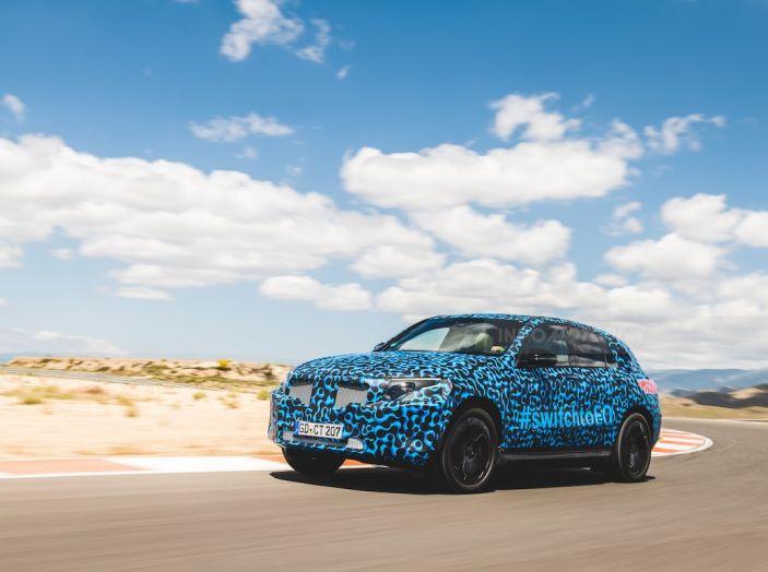 Mercedes-Benz EQC: il SUV elettrico della stella atteso il 4 settembre a Stoccarda - Foto 5 di 43