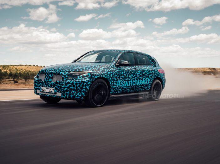 Mercedes-Benz EQC: il SUV elettrico della stella atteso il 4 settembre a Stoccarda - Foto 6 di 43