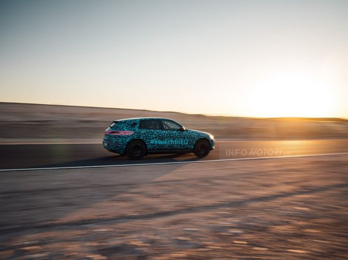 Mercedes-Benz EQC: il SUV elettrico della stella atteso il 4 settembre a Stoccarda - Foto 26 di 43