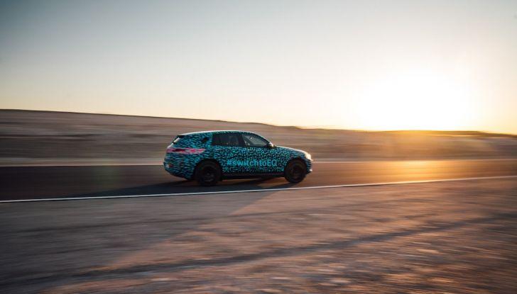 Mercedes-Benz EQC: il SUV elettrico della stella presentato a Stoccolma - Foto 42 di 59