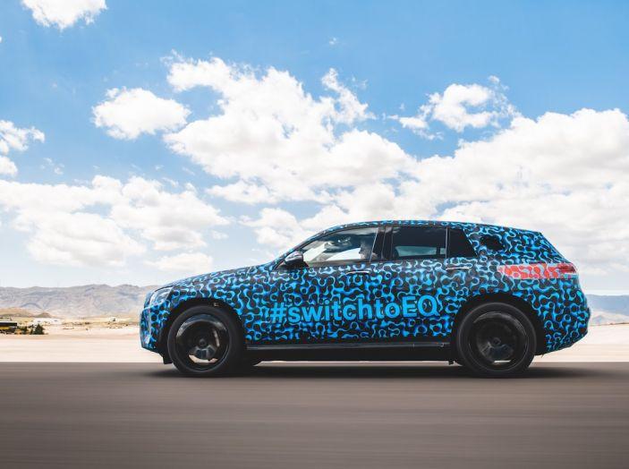 Mercedes-Benz EQC: il SUV elettrico della stella atteso il 4 settembre a Stoccarda - Foto 3 di 43