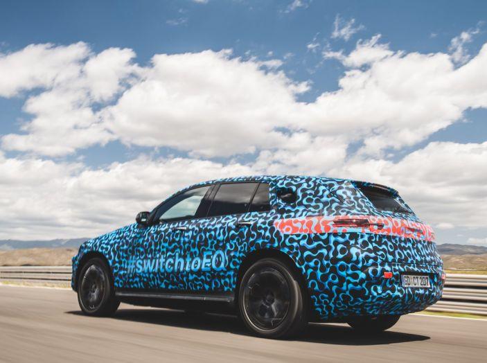 Mercedes-Benz EQC: il SUV elettrico della stella atteso il 4 settembre a Stoccarda - Foto 11 di 43