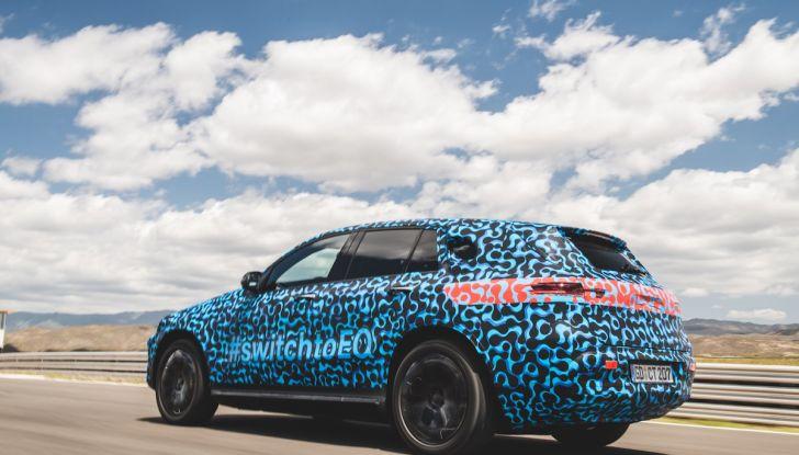 Mercedes-Benz EQC: il SUV elettrico della stella presentato a Stoccolma - Foto 27 di 59