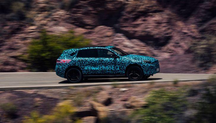 Mercedes-Benz EQC: il SUV elettrico della stella presentato a Stoccolma - Foto 58 di 59