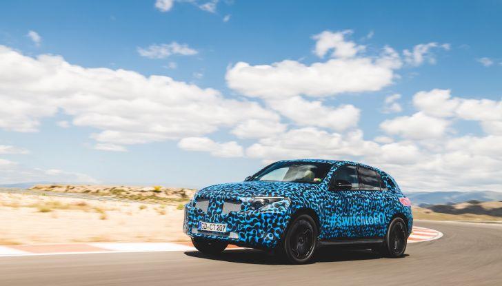 Mercedes-Benz EQC: il SUV elettrico della stella presentato a Stoccolma - Foto 24 di 59