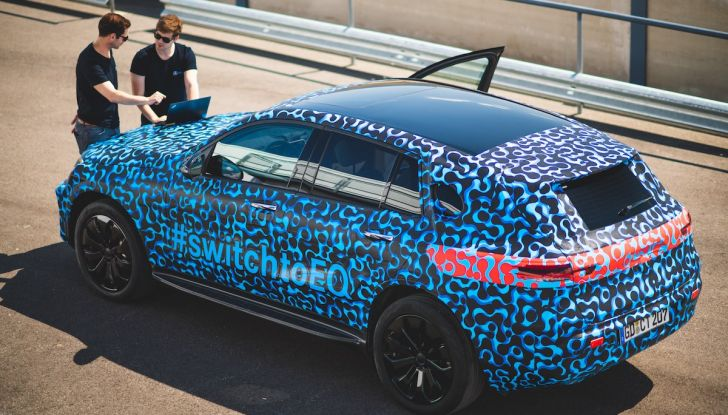 Mercedes-Benz EQC: il SUV elettrico della stella presentato a Stoccolma - Foto 20 di 59