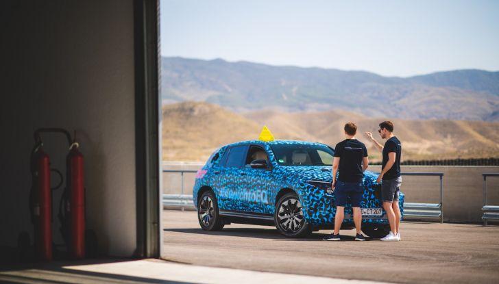 Mercedes-Benz EQC: il SUV elettrico della stella presentato a Stoccolma - Foto 31 di 59