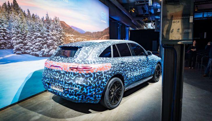 Mercedes-Benz EQC: il SUV elettrico della stella presentato a Stoccolma - Foto 2 di 59