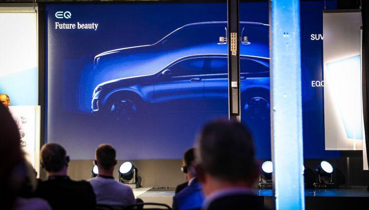 Mercedes-Benz EQC: il SUV elettrico della stella presentato a Stoccolma - Foto 4 di 59