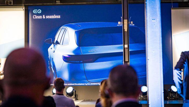Mercedes-Benz EQC: il SUV elettrico della stella presentato a Stoccolma - Foto 5 di 59