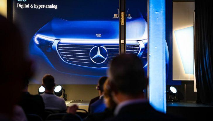 Mercedes-Benz EQC: il SUV elettrico della stella presentato a Stoccolma - Foto 7 di 59