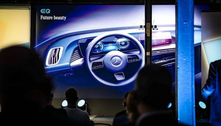 Mercedes-Benz EQC: il SUV elettrico della stella presentato a Stoccolma - Foto 8 di 59