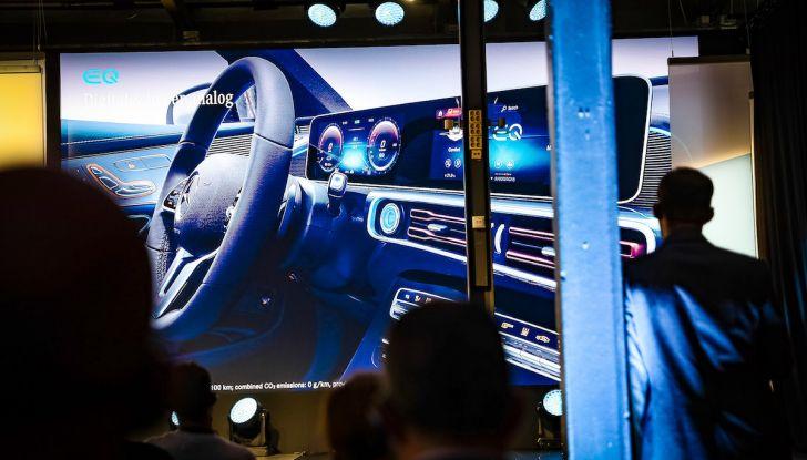 Mercedes-Benz EQC: il SUV elettrico della stella presentato a Stoccolma - Foto 9 di 59