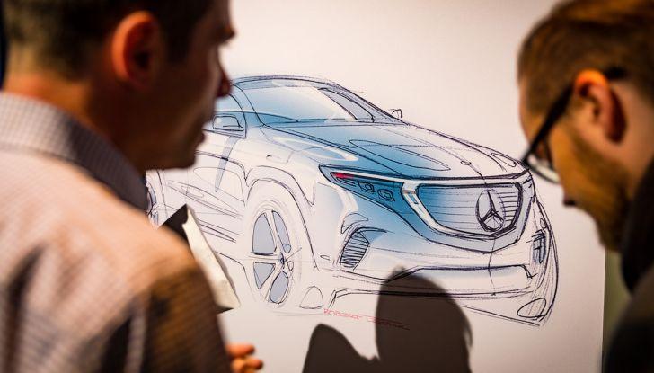 Mercedes-Benz EQC: il SUV elettrico della stella presentato a Stoccolma - Foto 16 di 59