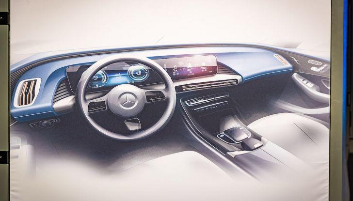 Mercedes-Benz EQC: il SUV elettrico della stella presentato a Stoccolma - Foto 11 di 59
