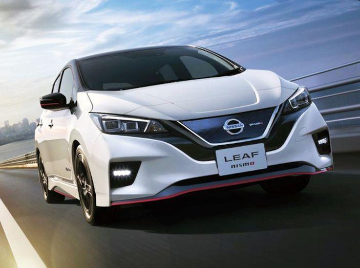 Nissan Leaf Nismo 2018: la prima Hot Hatch 100% elettrica - Foto 1 di 7