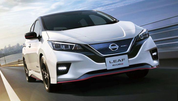 Nissan Leaf Nismo 2018: la prima Hot Hatch 100% elettrica - Foto 2 di 8