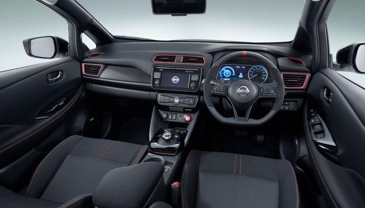 Nissan Leaf Nismo 2018: la prima Hot Hatch 100% elettrica - Foto 6 di 8