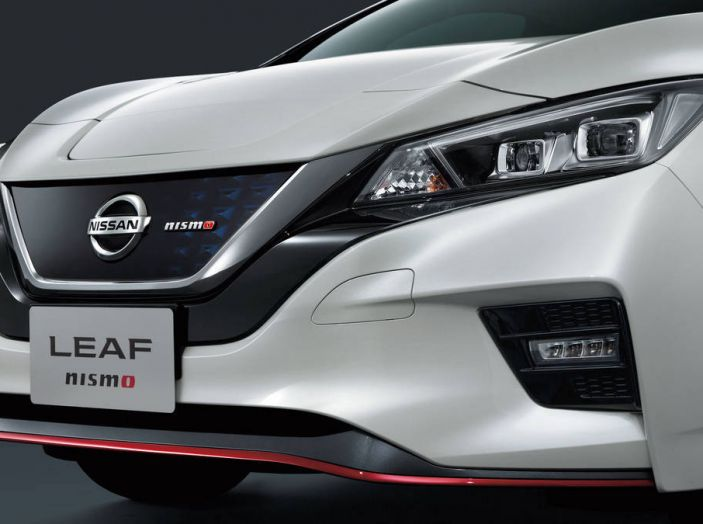 Nissan Leaf Nismo 2018: la prima Hot Hatch 100% elettrica - Foto 6 di 7