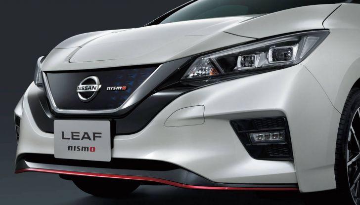 Nissan Leaf Nismo 2018: la prima Hot Hatch 100% elettrica - Foto 7 di 8