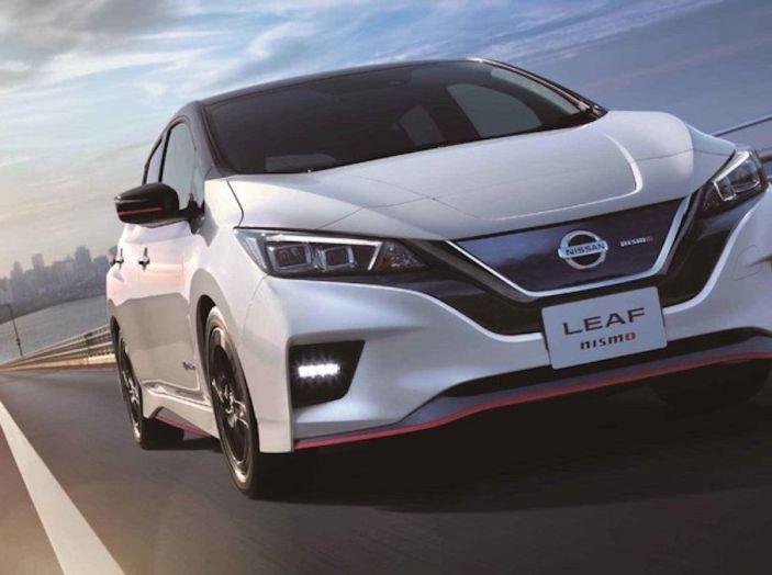 Nissan Leaf Nismo 2018: la prima Hot Hatch 100% elettrica - Foto 7 di 7