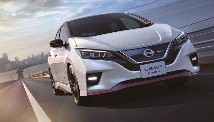 Nissan Leaf Nismo 2018: la prima Hot Hatch 100% elettrica - Foto 8 di 8