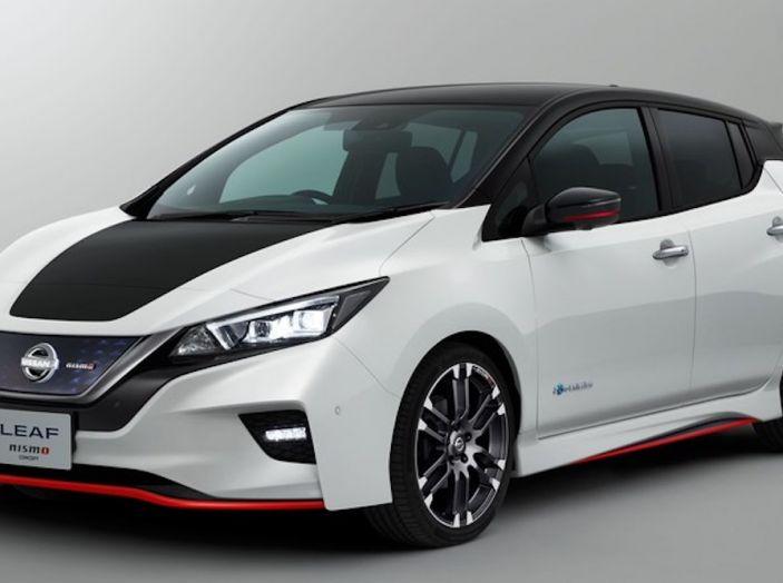 Nissan Leaf Nismo 2018: la prima Hot Hatch 100% elettrica - Foto 2 di 7