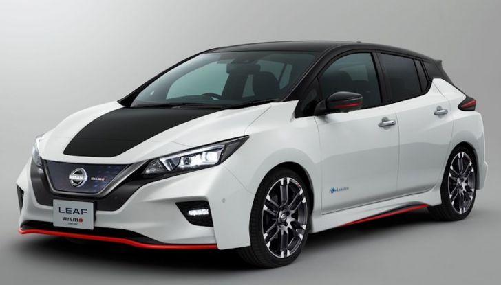 Nissan Leaf Nismo 2018: la prima Hot Hatch 100% elettrica - Foto 3 di 8