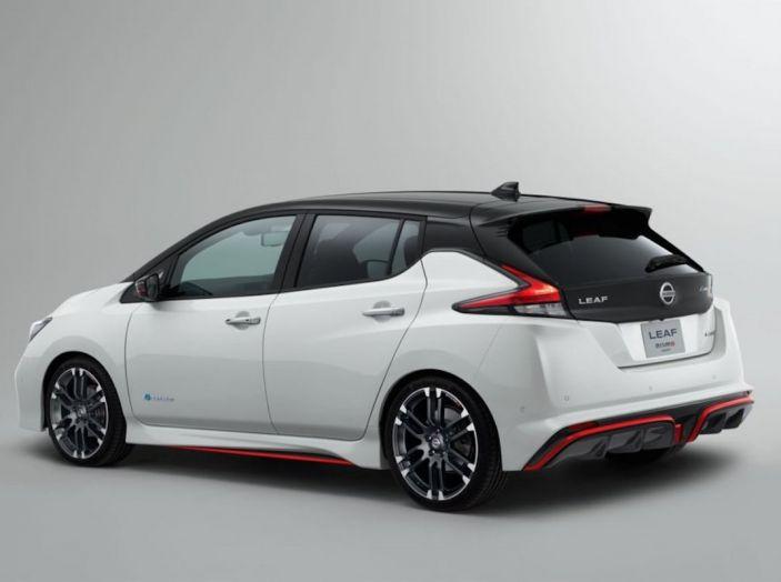 Nissan Leaf Nismo 2018: la prima Hot Hatch 100% elettrica - Foto 4 di 7