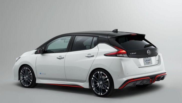 Nissan Leaf Nismo 2018: la prima Hot Hatch 100% elettrica - Foto 5 di 8