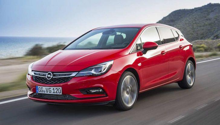 Nuova Opel Astra disponibile con motore 1.6 BiTurbo Diesel - Foto 5 di 5