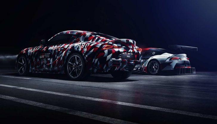 Nuova Toyota Supra debutta al Goodwood Festival of Speed 2018 - Foto 1 di 7