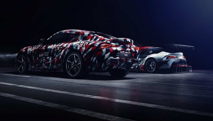Nuova Toyota Supra debutta al Goodwood Festival of Speed 2018 - Foto 1 di 7