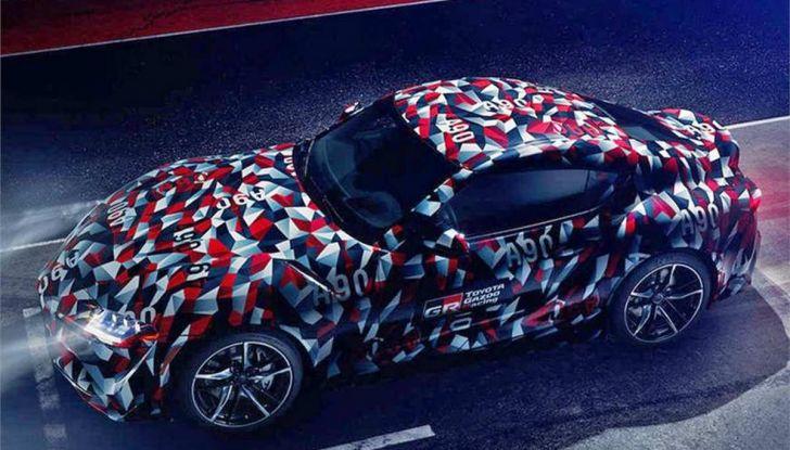 Nuova Toyota Supra debutta al Goodwood Festival of Speed 2018 - Foto 7 di 7