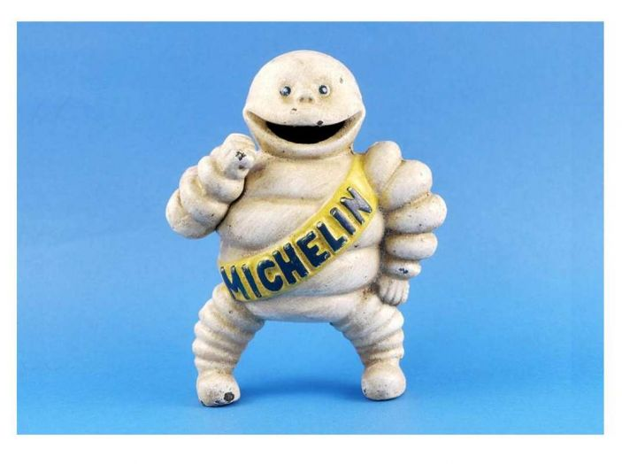 Omino Michelin, compie 120 anni l'icona degli pneumatici - Foto 3 di 9
