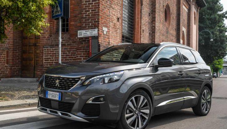 Peugeot 3008 con nuovo cambio EAT8 provata su strada - Foto 10 di 30