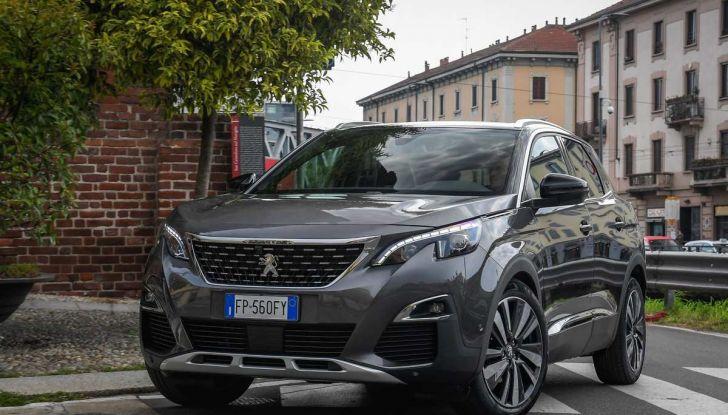 Peugeot 3008 con nuovo cambio EAT8 provata su strada - Foto 6 di 30