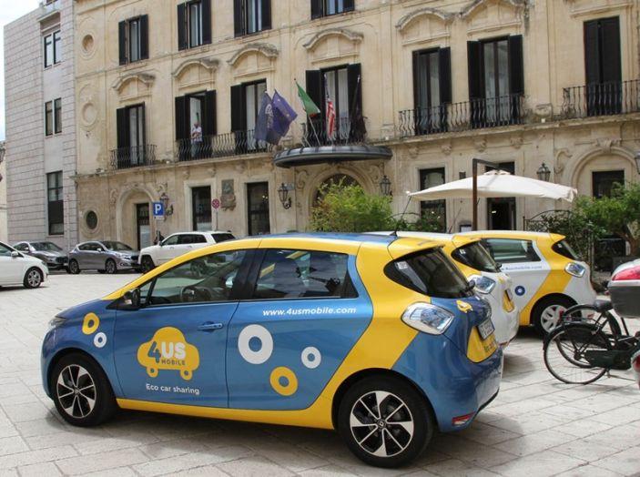 Renault ZOE per il primo car-sharing a flusso libero del Salento - Foto 2 di 6