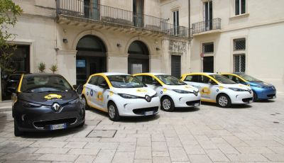 Renault ZOE per il primo car-sharing a flusso libero del Salento