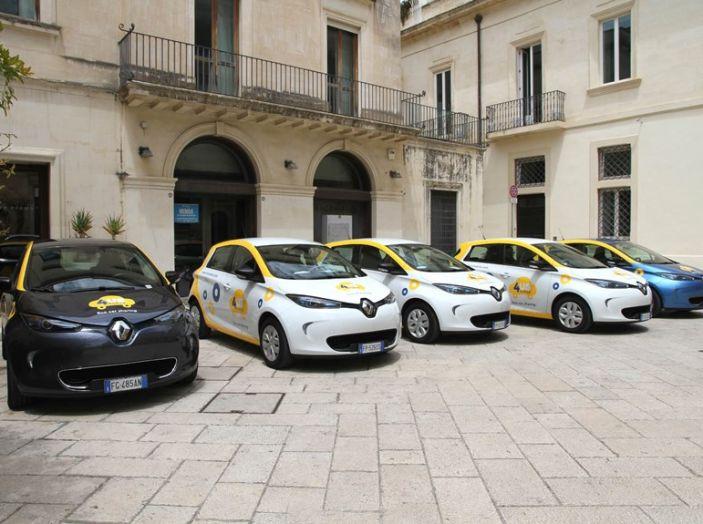 Renault ZOE per il primo car-sharing a flusso libero del Salento - Foto 1 di 6