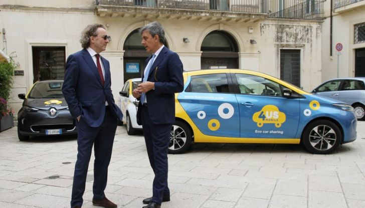 Renault ZOE per il primo car-sharing a flusso libero del Salento - Foto 5 di 6