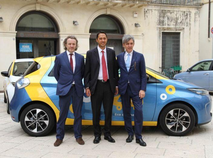 Renault ZOE per il primo car-sharing a flusso libero del Salento - Foto 3 di 6