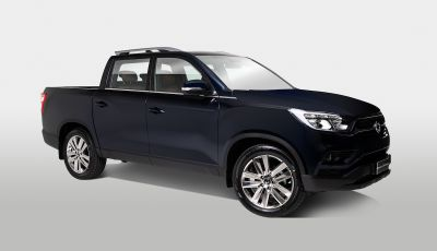 SsangYong Rexton Sports 2018: il pick-up pratico, solido e con 4WD